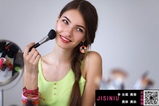 日本流行彩妆_淑女妆的画法步骤